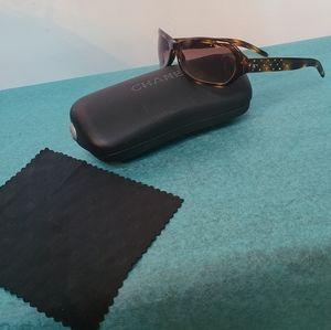 CHANEL Sunglasses w/ Swarovski Crystals